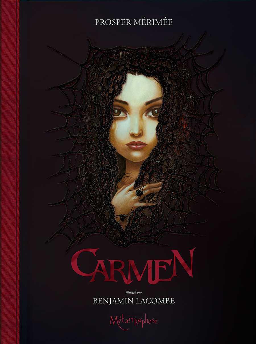 Carmen, Mérimée et Benjamin Lacombe duo romantique