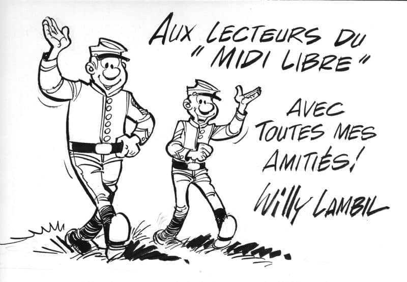 Dédicace de Willy Lambil