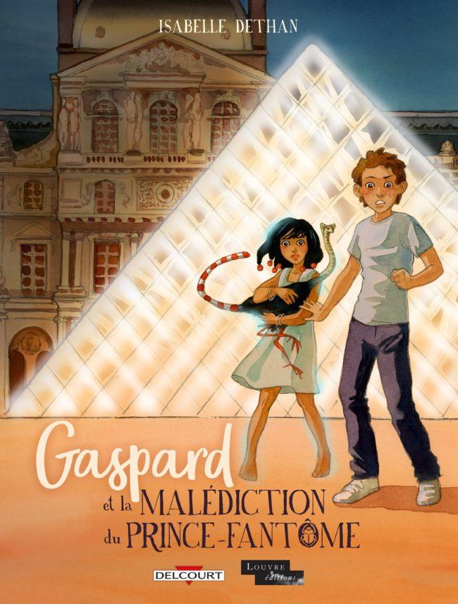 Gaspard et la malédiction du prince fantôme, le Louvre et ses mystères