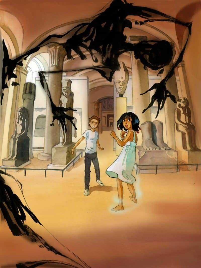 Gaspard et la malédiction du prince fantôme