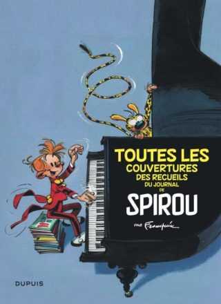 Toutes les couvertures des recueils du Journal de Spirou