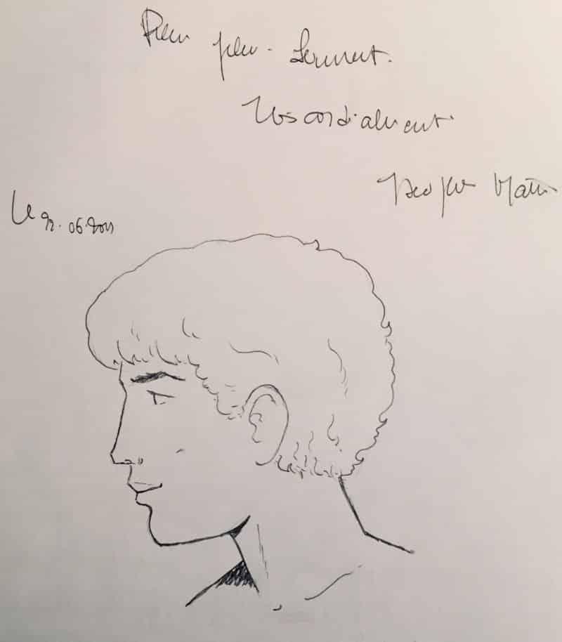 Dédicace de Jacques Martin