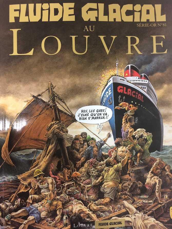 Fluide Glacial au Louvre et un spécial pour la sortie du 500e numéro en janvier
