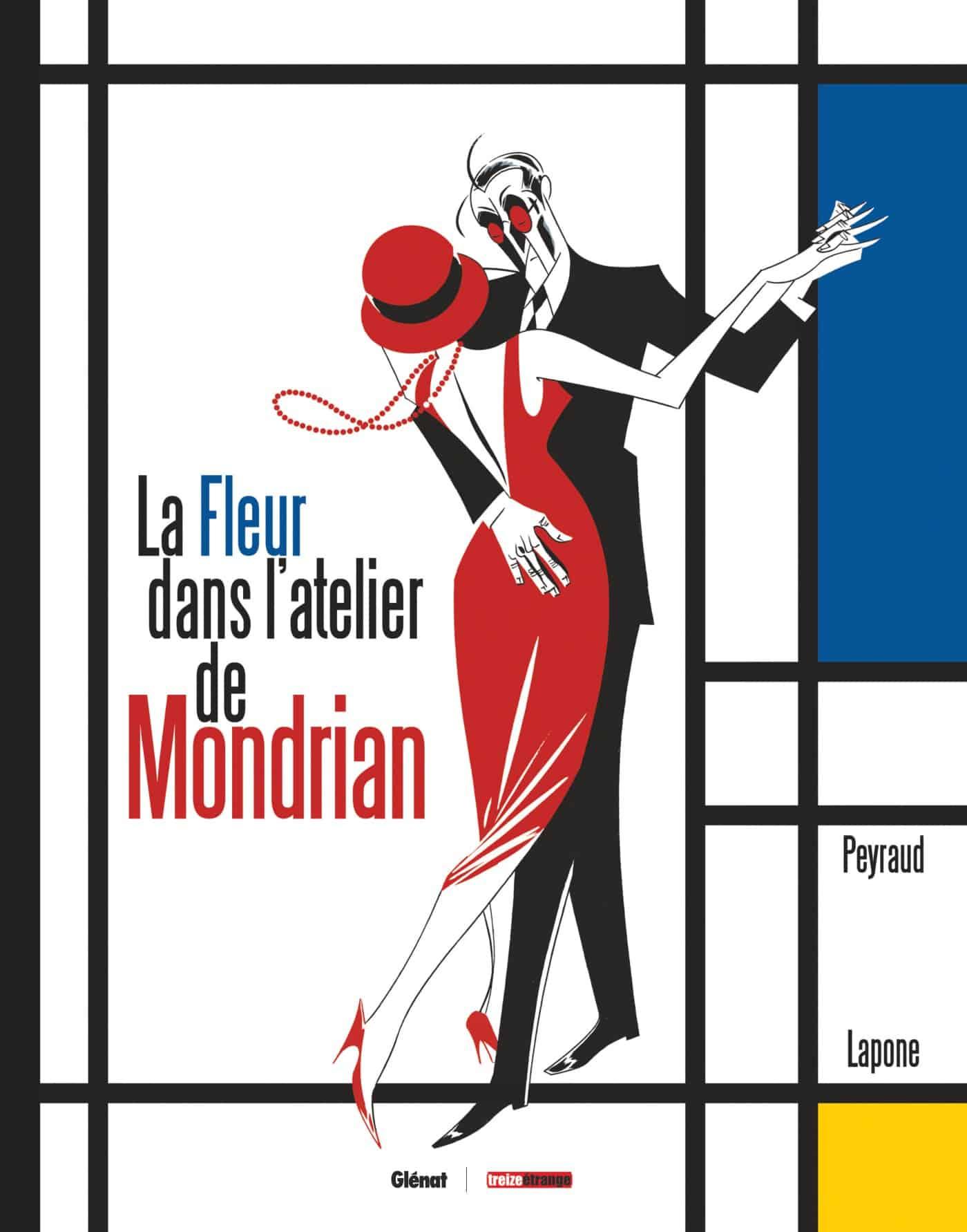 La Fleur dans l'atelier de Mondrian, belles retrouvailles