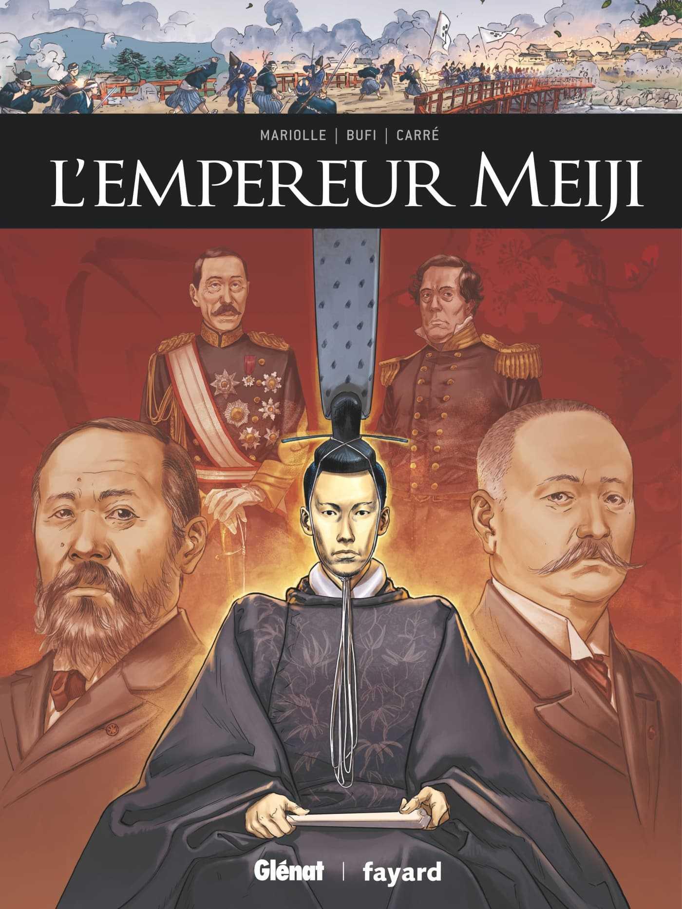 L'Empereur Meiji et César, le pouvoir et leur pays avant tout