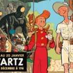 Olivier Schwartz s'expose chez Maghen avec Spirou et Fantasio jusqu'au 20 janvier