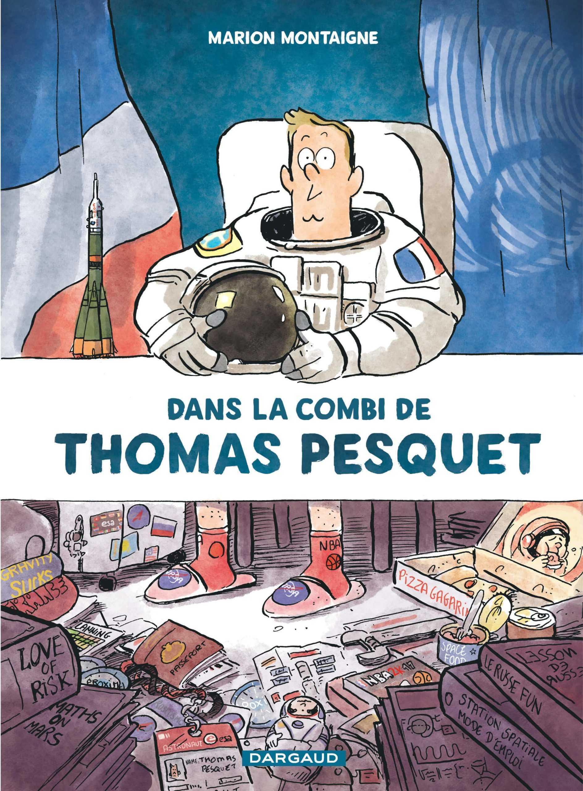 Fauve Prix du Public Cultura du Festival d'Angoulême à Marion Montaigne pour Dans la combi de Thomas Pesquet