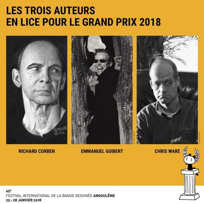 Grand Prix d'Angoulême 2018