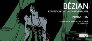 Bézian et Docteur Radar tome 2 à la Galerie Glénat du 7 au 28 février