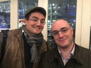 Ronan Toulhoat et Vincent Brugeas