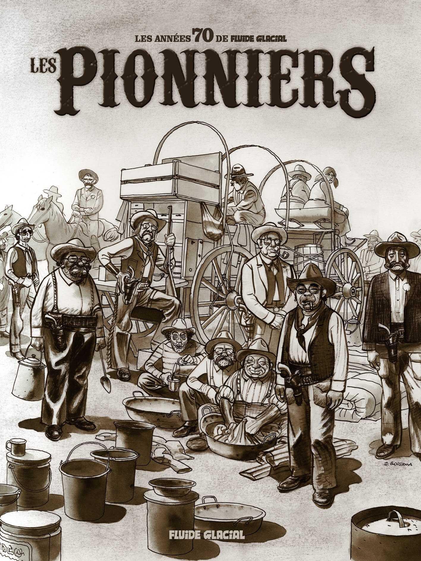 Les Pionniers, quand Fluide Glacial ouvrait les vannes de l'umour et des bandedessinées
