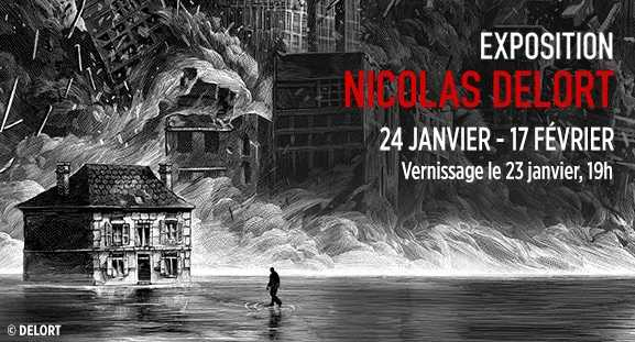 Nicolas Delort s'expose chez Maghen