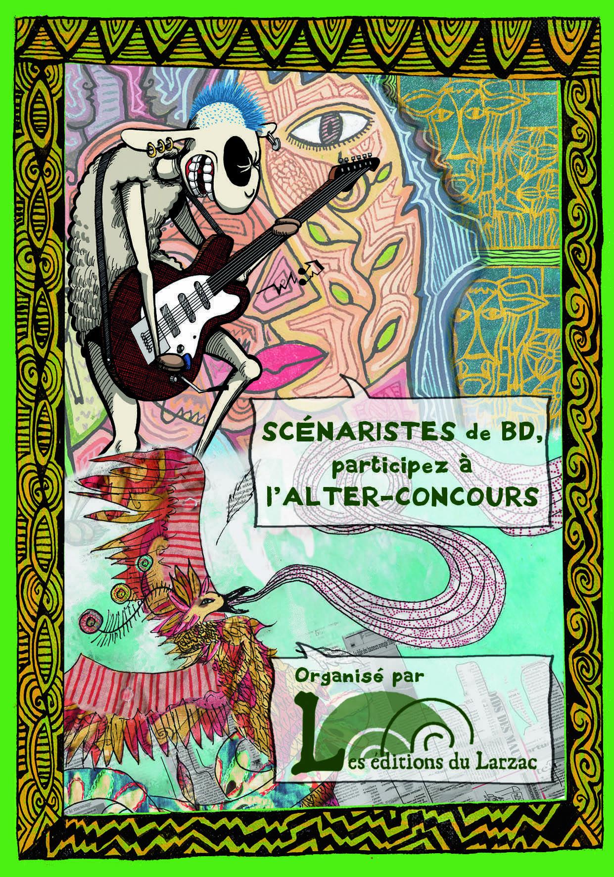 Les Éditions du Larzac organisent un alter-concours de scénario