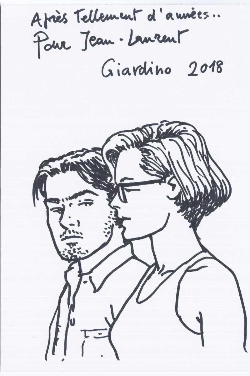 Dédicace de Vittorio Giardino