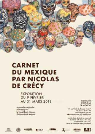 Carnet du Mexique par Nicolas de Crécy