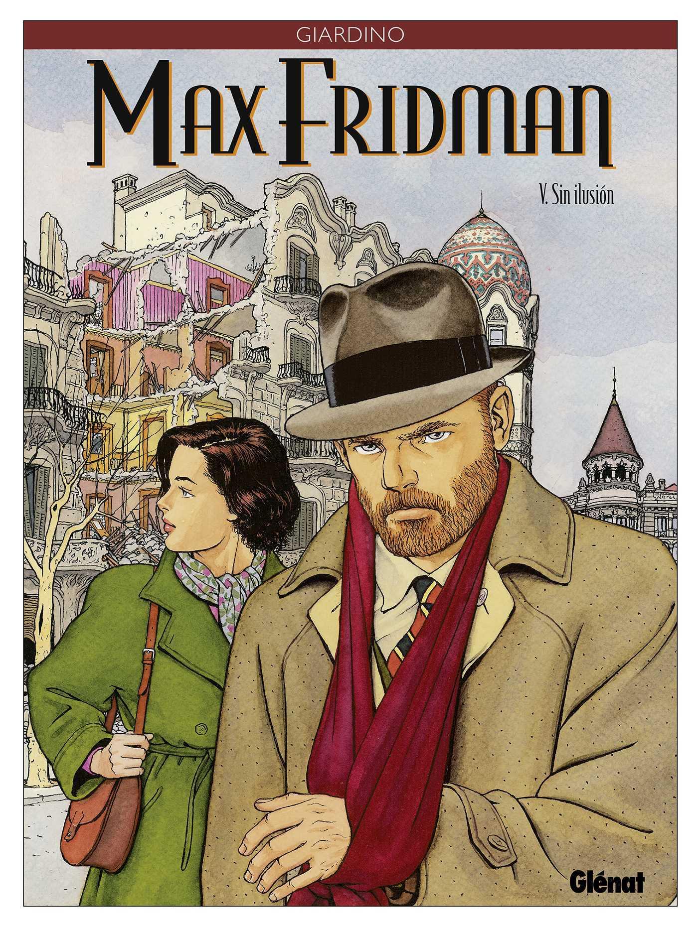 Archives : Quand Giardino annonçait la suite de Jonas Fink... à la sortie d'un Max Fridman