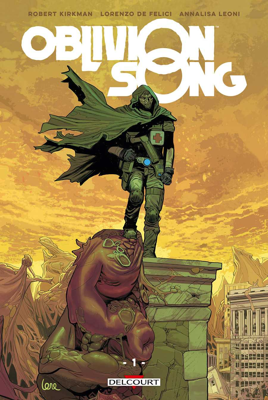 Oblivion Song, Robert Kirkman après Walking Dead