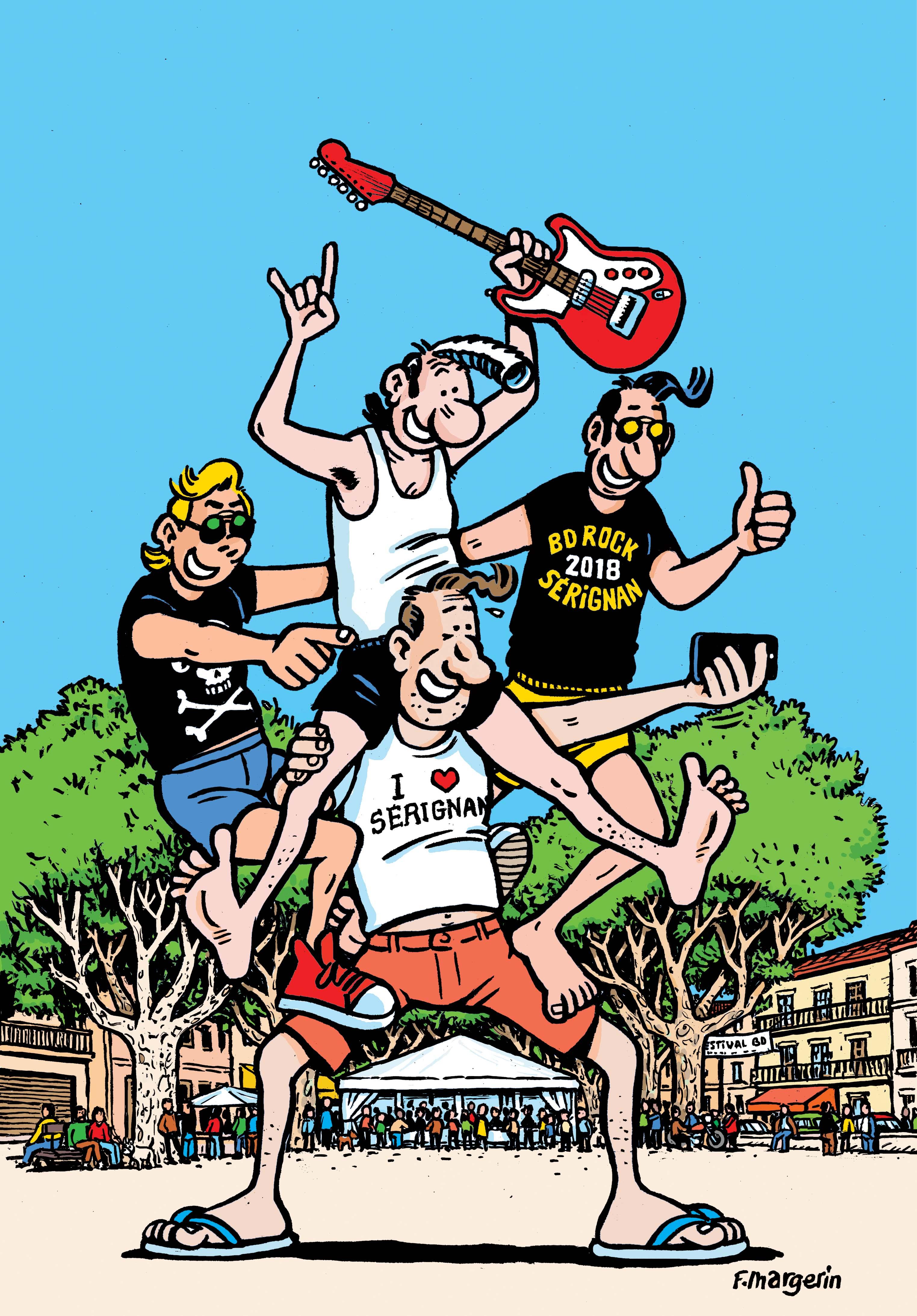 23e Festival de Sérignan, rock et BD en fête les 19 et 20 mai avec Gibrat, Margerin, Cabanes, Labiano