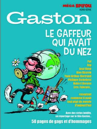Mega Spirou avec tout sur Gaston devenu un héros du 7e art