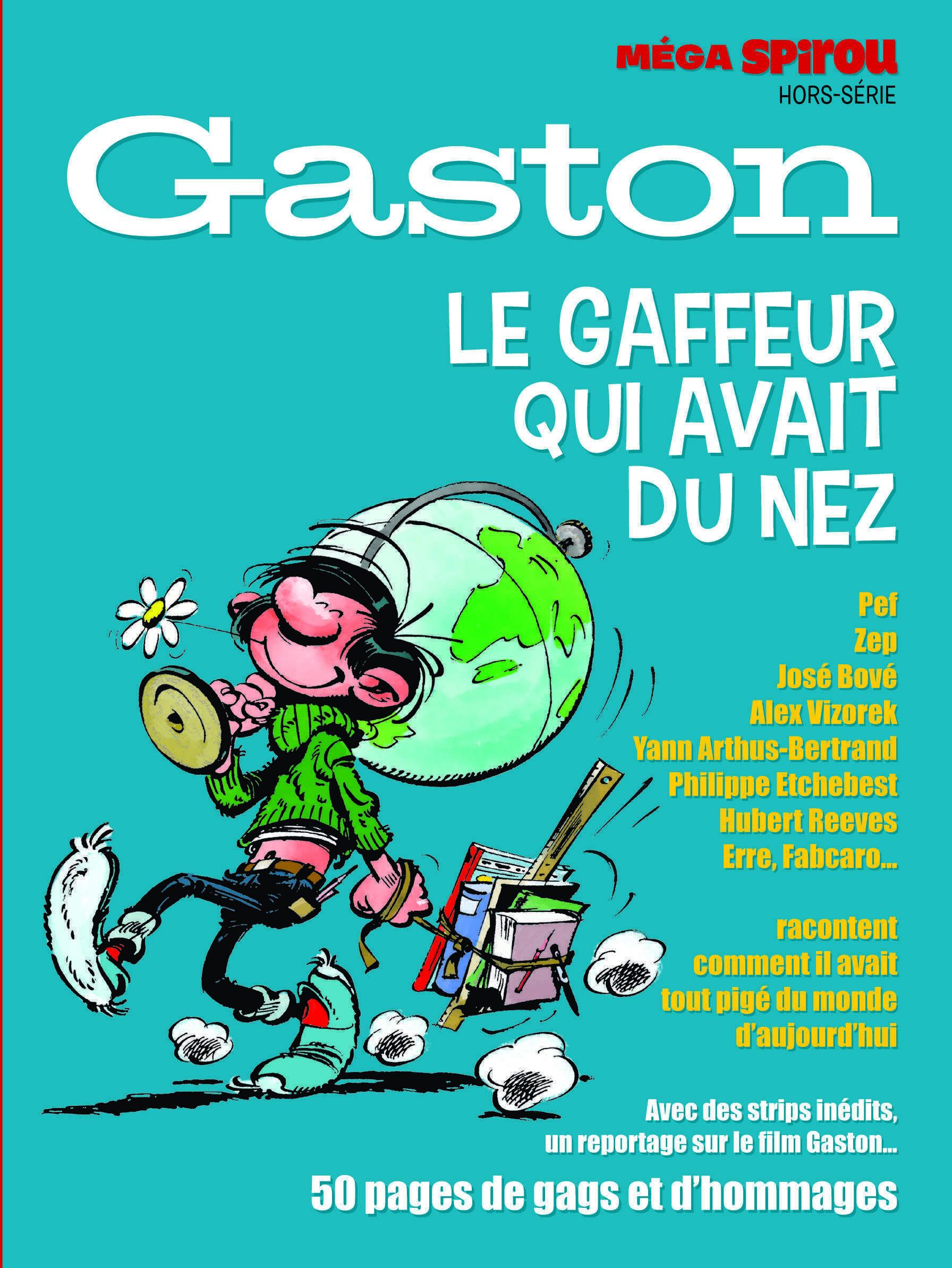 Gaston super star du grand écran le 4 avril à un Méga Spirou