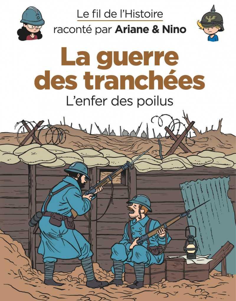 Le Fil de l'Histoire, une collection en BD pour mieux comprendre et apprendre avec Fabrice Erre