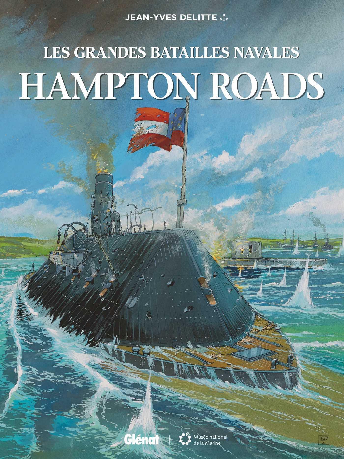 Hampton Roads, le début des batailles de cuirassés