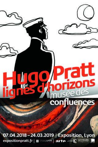 Hugo Pratt - Lignes d'horizons