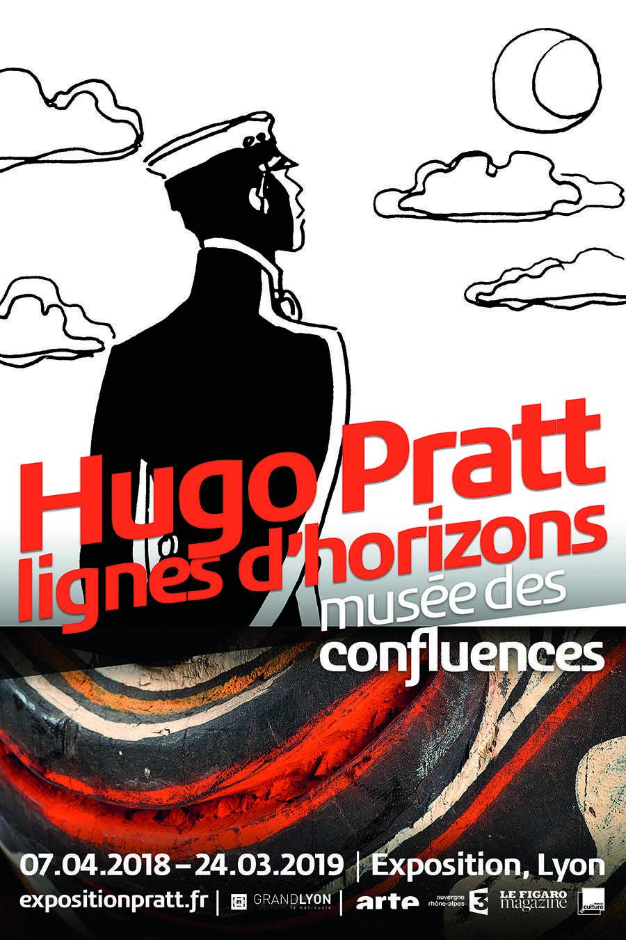 Hugo Pratt au Musée des Confluences à Lyon, dessinateur et ethnologue dès le 7 avril