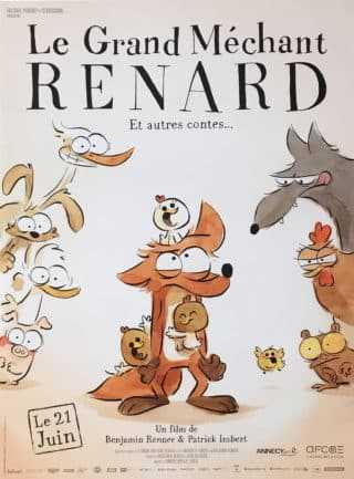 Le Grand Méchant Renard reçoit le César 2018 du film d'animation