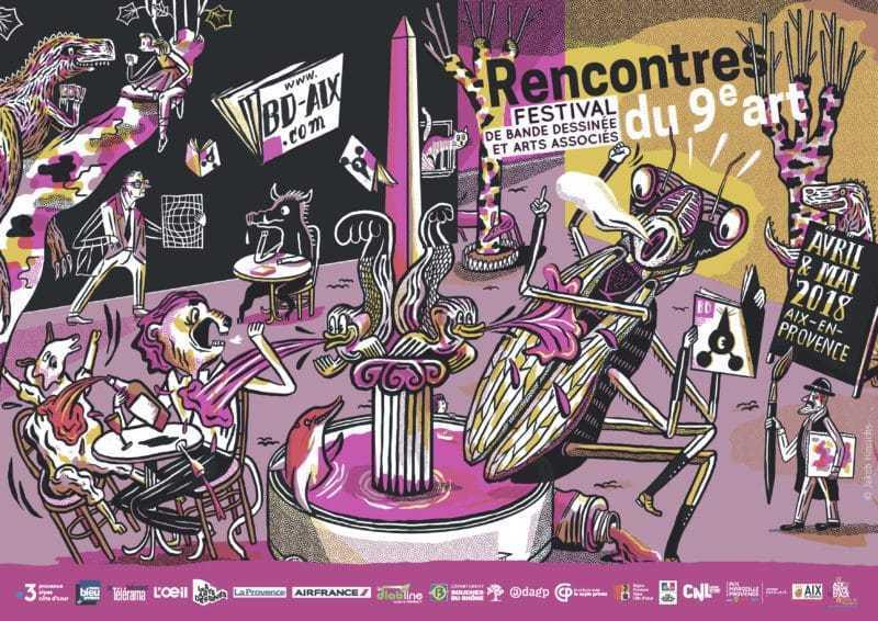 Rencontres du 9e Art d'Aix-en-Provence 2018