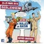 De Bulles en raisin à Beblenheim les 24 et 25 mars 2018, avec Tanguy et Laverdure