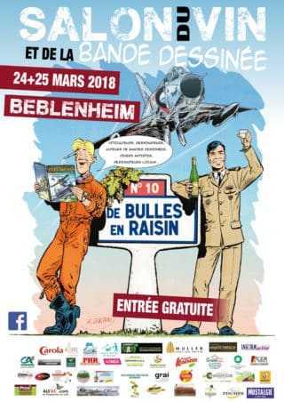 Salon du vin et de la BD de Beblenheim 2018