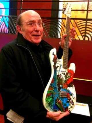 Philippe Druillet, tout pour la guitare