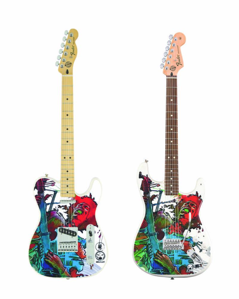 Stratocaster et Telecaster