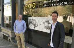 Frédéric Lorge (à gauche) et Renaud Dillies (à droite). Photo F. Lorge ®