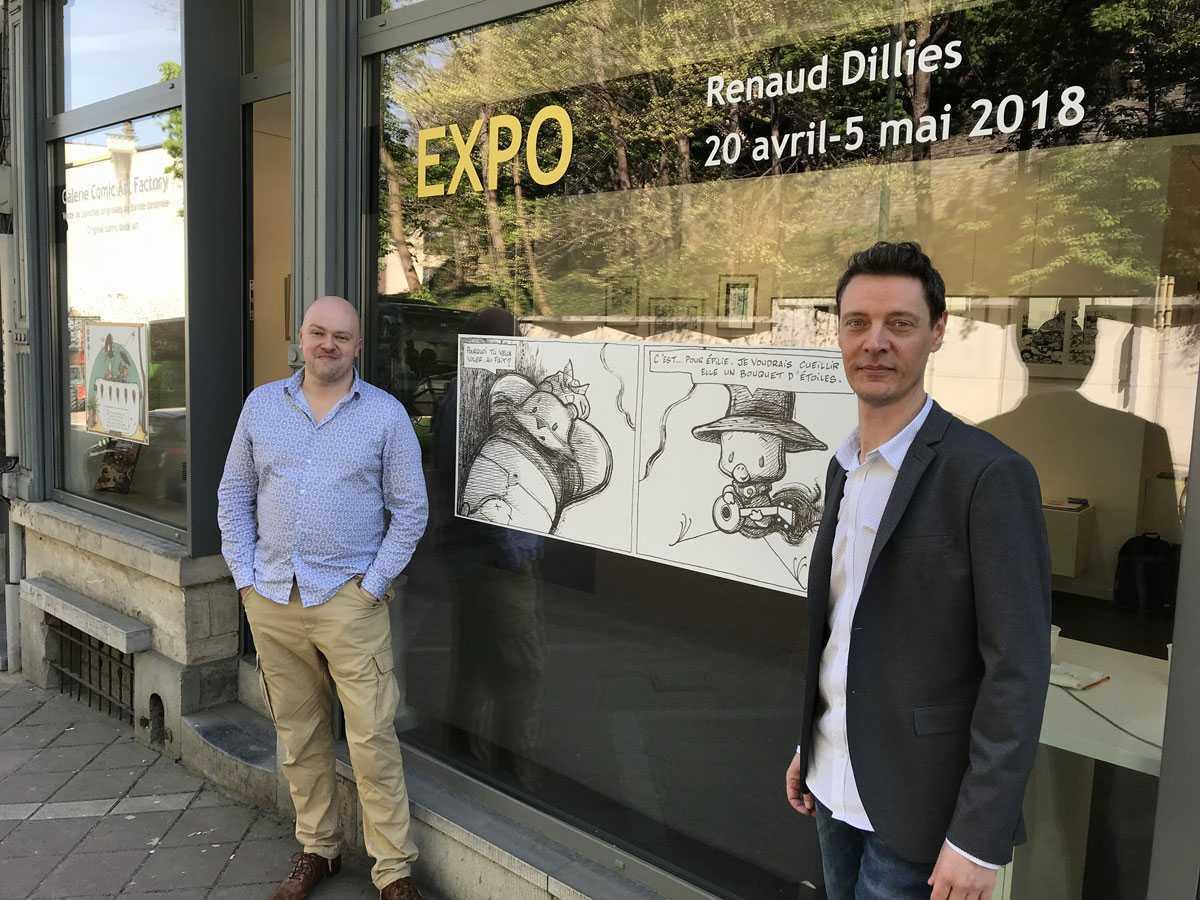 """Interview : Frédéric Lorge de Comic Art Factory : """"Acheter une planche c'est se faire plaisir"""""""