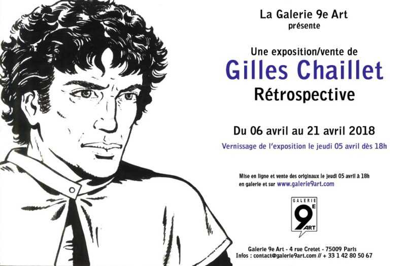 Exposition Gilles Chaillet