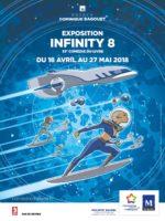 Pour la Comédie du Livre 2018 à Montpellier, l'exposition Infinity 8 a ouvert son espace inter-stellaire