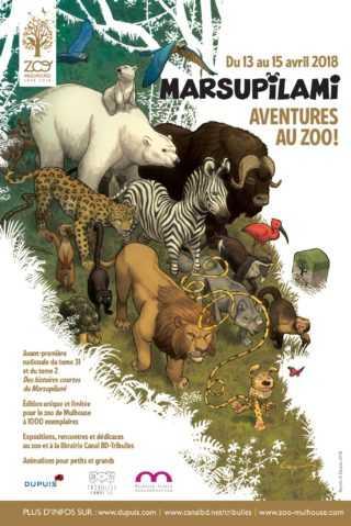 Le Marsupilami au zoo de Mulhouse