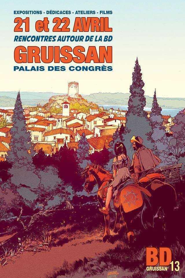 13ème édition du Festival de Gruissan du 20 au 22 avril 2018, Hugues Labiano président