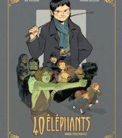 40 Éléphants, Virginie Augustin à la Comédie du Livre à Montpellier pour le tome 2 qui aura une suite