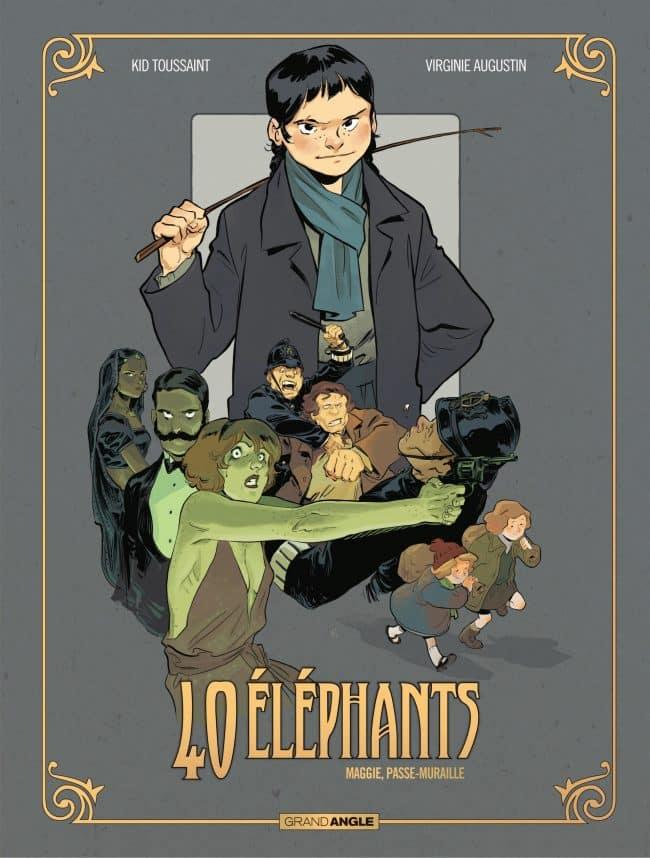 40 Éléphants, Virginie Augustin à la Comédie du Livre à Montpellier pour le tome 2