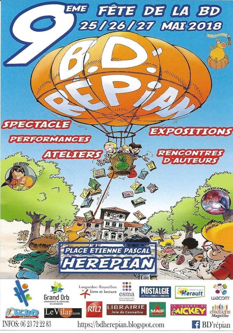 Fête de la BD d'Hérépian 2018