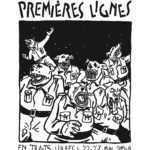 Willem s'expose à En Traits Libres pour la Comédie du Livre à Montpellier