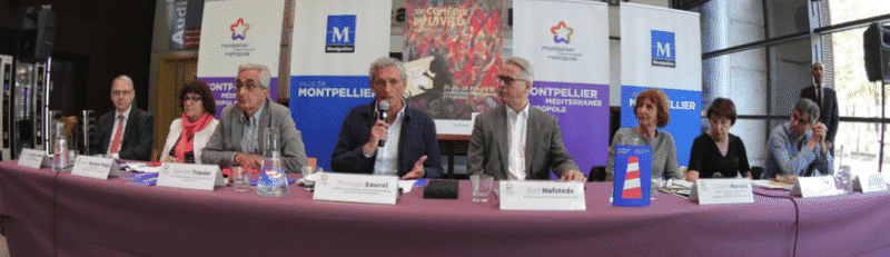 Philippe Saurel et Bart Hofstede