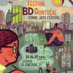 Festival BD de Montréal, du 25 au 27 mai 2018