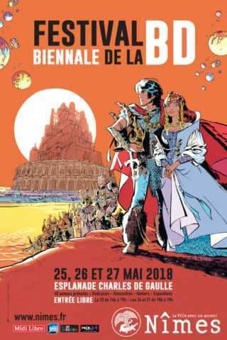 Festival biennale de la BD de Nîmes 2018
