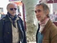 Frank Margerin et Ptiluc sont à Sérignan. JLT ®