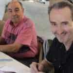 Christian Gine et Hugues Labiano