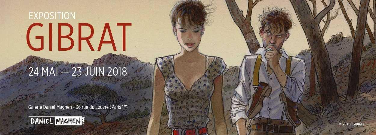 Daniel Maghen ouvre une nouvelle galerie à Paris avec une expo de Gibrat en vedette le 24 mai